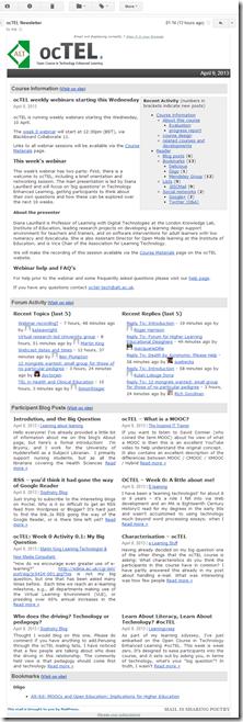 octel newsletter