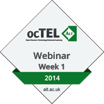 Group logo of Webinar Week 1 Badge
